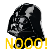 Darth Vader Nooo! Button