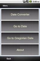 Screenshot of Ethiopian Calendar