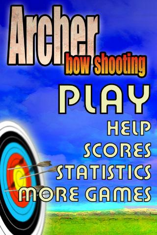Archer bow shooting- screenshot