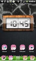 Screenshot of THEME - Hot Pink Giraffe