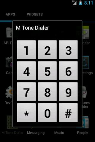 MToneDialer DTMF