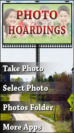 Hoardings Photo Frames Effects
