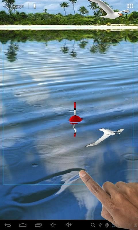 Fishing float live wallpaper android apps on google play for Fishing for floaters game
