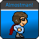 Almostman! (ad supported) logo
