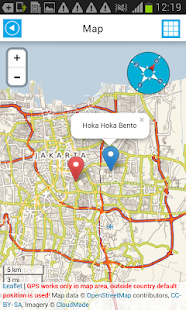 Indonesia Offline Map &Weather - screenshot thumbnail