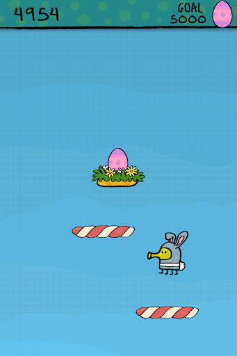 Игра Doodle Jump Easter Special для планшетов на Android