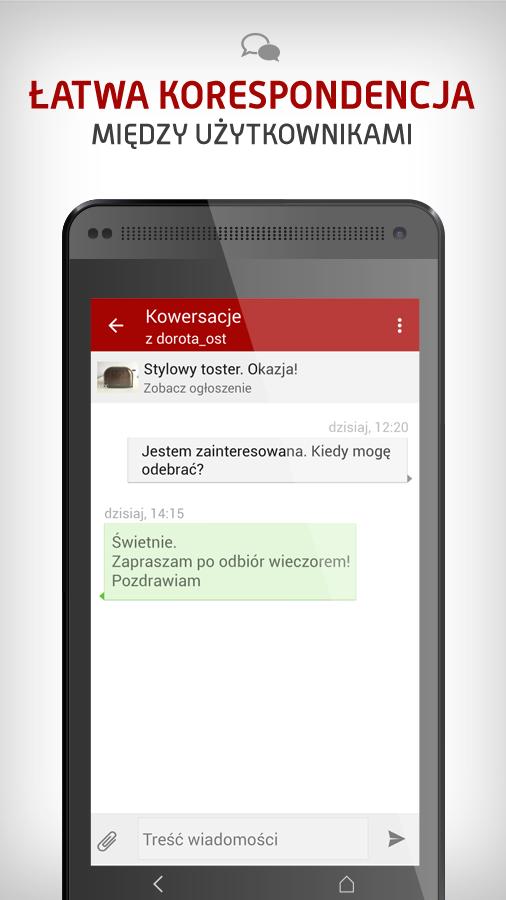 OLX.pl - ogłoszenia lokalne - screenshot