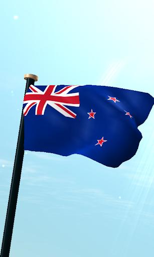 新西蘭旗3D免費動態桌布