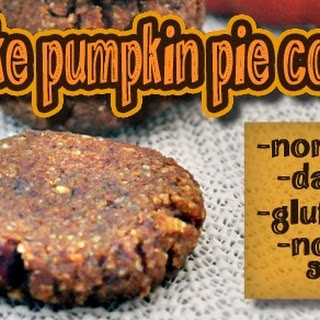 No Bake Pumpkin Pie Cookies