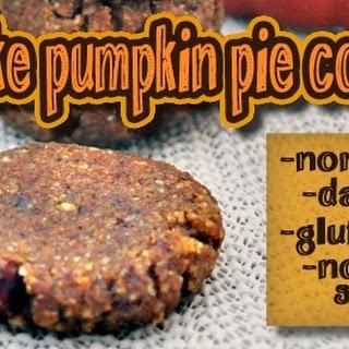 No Bake Pumpkin Pie Cookies.