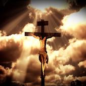 Jesus on the Cross livewallpap