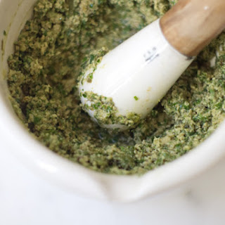 Marjoram Sauce with Capers & Green Olives