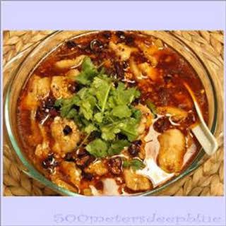 Shui Zhu Yu (Sichuan Boiled Fish).