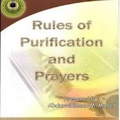 Purification and prayers