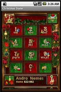 Christmas Dialer- screenshot thumbnail