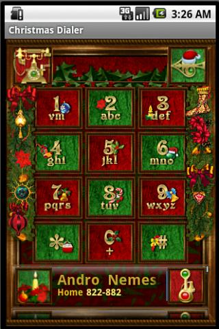 Christmas Dialer - screenshot