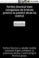 Screenshot of Perfect Shortcut