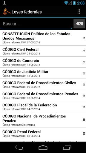 Leyes federales