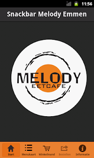 Snackbar Melody BestelApp- screenshot thumbnail