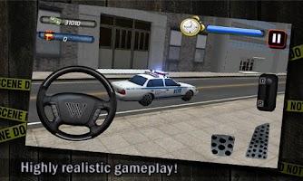 Screenshot of Police Car Parking3d Simulator