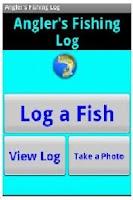 Screenshot of Angler's Fishing Log