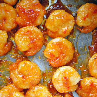 Sweet and Sour Crackerjack Shrimp.