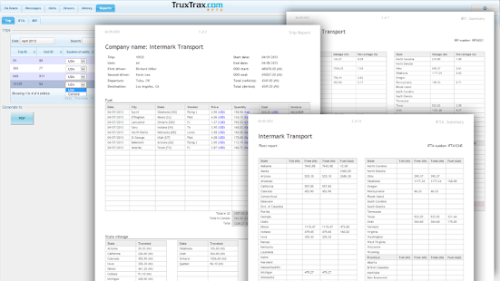 TruxTrax Free Vehicle Tracker- screenshot thumbnail