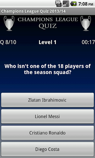 玩體育競技App|Champions League Quiz 2013/14免費|APP試玩