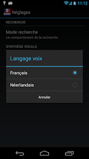 Offline French Dutch Dict. - screenshot thumbnail