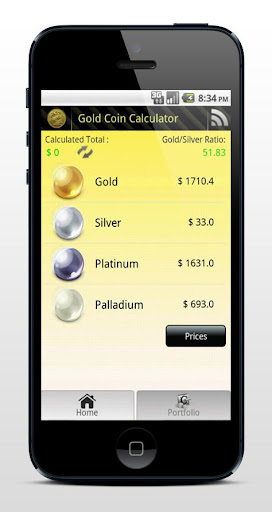 Gold Coin Prices Tracker Free