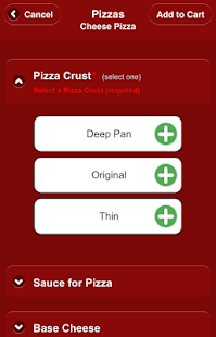 Mazzio's Pizza Mobile Ordering- screenshot thumbnail
