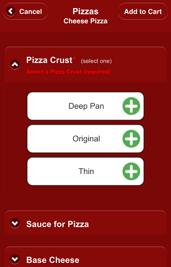 Mazzio's Pizza Mobile Ordering- screenshot