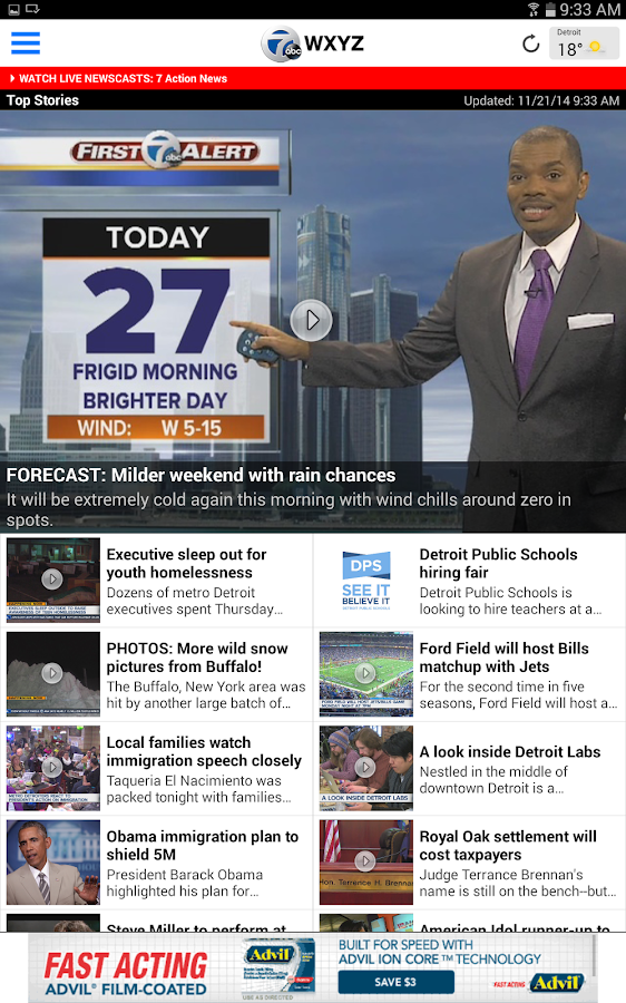 WXYZ Channel 7 Detroit - screenshot