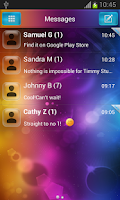 Screenshot of GO SMS Theme for Android