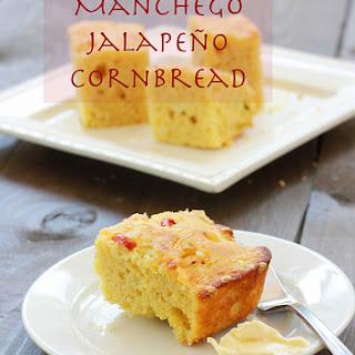 Jalapeño Manchego Corn Bread