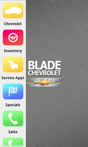 Blade Chevrolet Dealer App