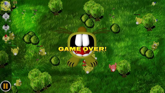 Bunny Wars: Egg Defence- screenshot thumbnail