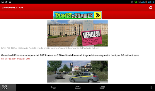 CasertaNews.it - RSS - screenshot thumbnail