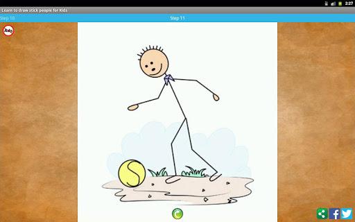 【免費漫畫App】Learn to draw stick people-APP點子
