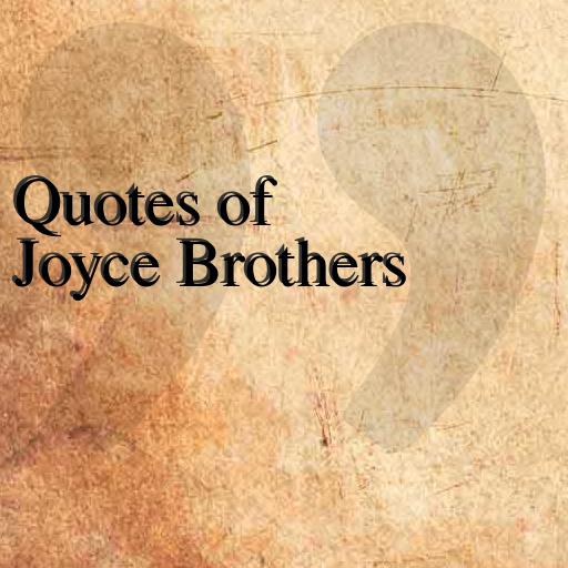 Quotes of Joyce Brothers 娛樂 App LOGO-硬是要APP