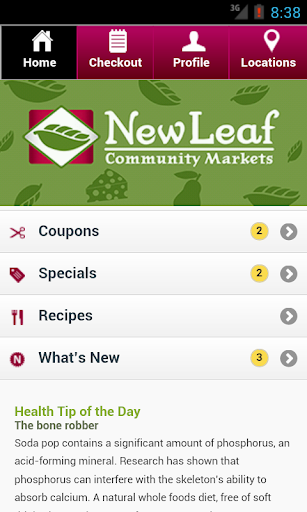 New Leaf Community Markets