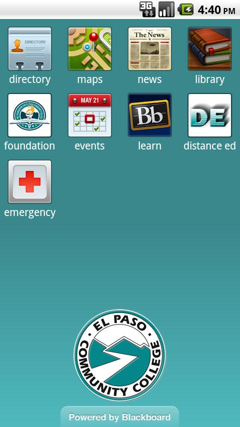 EPCC Mobile - screenshot