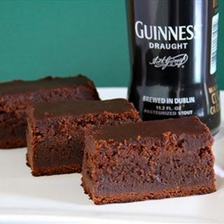 Guinness Brownies.
