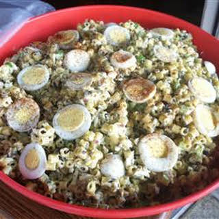 Macaroni Salad for a Crowd.