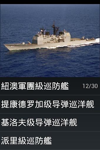 现代舰船测验