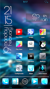Kitkat material glow HD icons - screenshot thumbnail