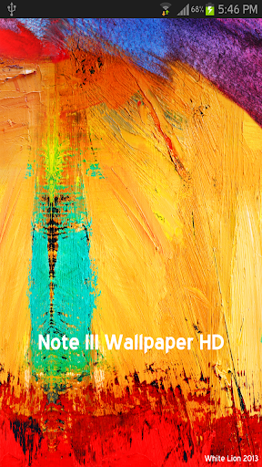 Galaxy Note III Wallpaper HD