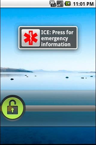 Emergency Information ICE Plus - screenshot