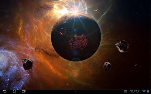 Space Symphony 3D Pro LWP - screenshot