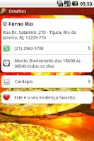 Screenshot of O Forno Rio